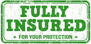 Fully Insured and Bonded Home Inspections.